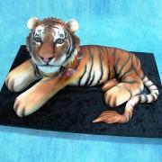 3D Tiger Cake