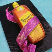 Bundaberg Rum Bottle Cake