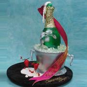Perrier Jouet 3D Cake