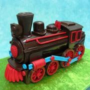 Chocolate Train Cake