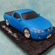 Blue Ute Cake