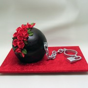 Ball And Chain Cake
