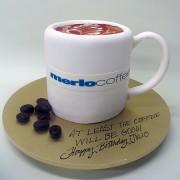 Coffee Mug 3D Cake
