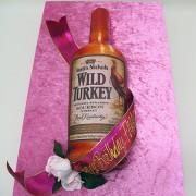 Wild Turkey 3D Cake