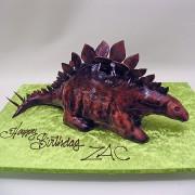 3D Stegasaurus Dinasor Cake