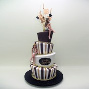 4 Tier with Girls