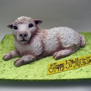 3D Lamb Cake