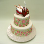 Music And Art Cake
