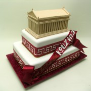 Greek Acropolise Parhenon Cake