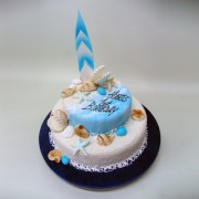 Beach And Surf Cake