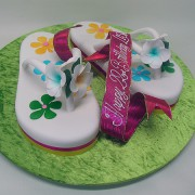 Pair Of Tongs Cake