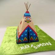 Tepee Cake