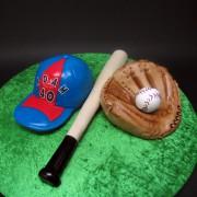 Baseball Set 3D Cake