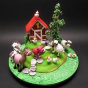 Landscape Farm Cake