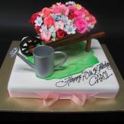 Wheel Barrow Cake