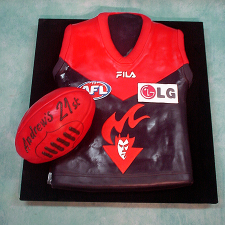 Image of afl Jersey And Ball