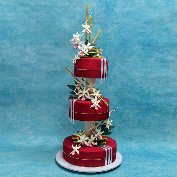 orchids-on-red-icing